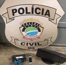 Foto de Polícia Civil prende em flagrante suspeito de invadir casa, ameaçar vítima e subtrair objetos – POLÍCIA CIVIL
