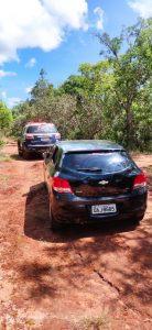 Polícia Militar de Paraíso das Águas recupera veículo produto de furto/roubo. |