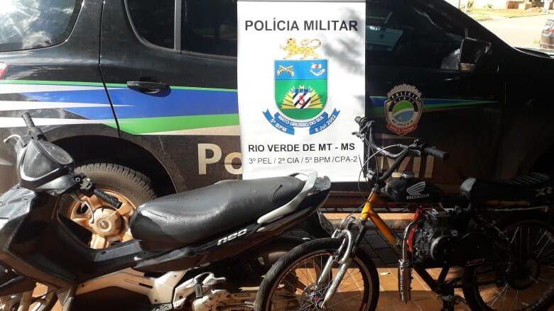 Polícia Militar em conjunto com a Policia Civil prende dois por furto em Rio Verde MT/MS |