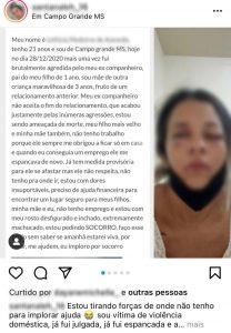 Suspeito de agredir jovem que usou as redes sociais para pedir socorro é preso preventivamente em Campo Grande – POLÍCIA CIVIL