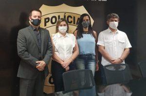 Foto de Delegado-Geral recebe visita de deputado estadual e vereadoras de Figueirão