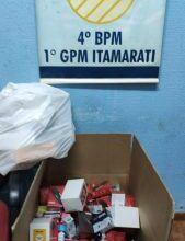 Foto de Em Itamarati, PM apreende mercadorias contrabandeadas |