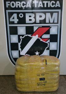 Força Tática do 4º BPM apreende mercadorias contrabandeadas |