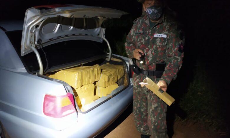 Operação Hórus - Polícia Militar Ambiental de Naviraí apreende veículo com 346 kg de drogas |
