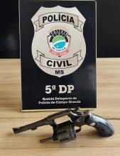 Foto de Polícia Civil esclarece homicídio, apreende arma e indicia suspeito