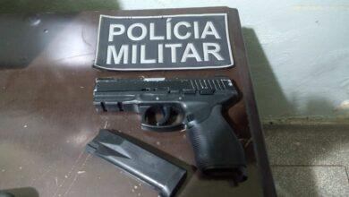 Foto de Polícia Militar apreende simulacro de arma de fogo em Aparecida do Taboado |