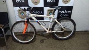 Foto de Bicicleta furtada é recuperada pela Polícia Civil em Jardim