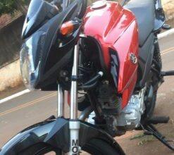 Foto de Moto furtada em Itaquiraí é recuperada pela Polícia Civil na cidade de Iguatemi