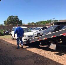 Foto de Polícia Civil realiza remoção de 270 veículos, que irão para leilão, do pátio da Denar