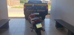 Foto de Polícia Militar em Três Lagoas recupera motocicleta e autor do furto delata a pessoa que encomendou o veículo |