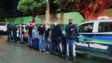 Foto de Polícia Militar realiza ação em conjunto com a Vigilância Sanitária em Aparecida do Taboado |