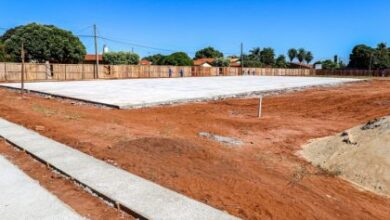 Foto de Administração Municipal está construindo sete praças com áreas de lazer em Três Lagoas