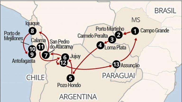 Campo Grande dá mais um importante passo para consolidar a Rota de Integração Latino Americana – RILA | CGNotícias
