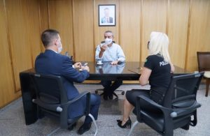 Delegado Geral realiza visita de cortesia à presidente da Assembleia Legislativa