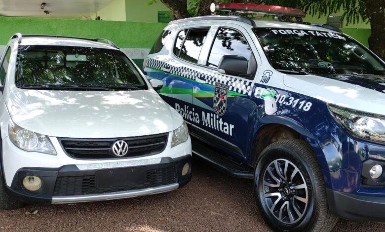 Força Tática do 4ºBPM recupera veículo furtado na Paraíba |