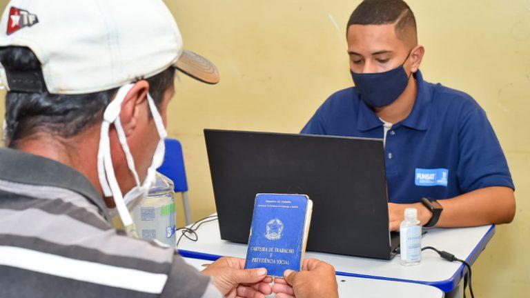 Funsat e Grupo Atacadista realizam ação Itinerante no Distrito de Anhanduí e 60 pessoas foram contratadas | CGNotícias