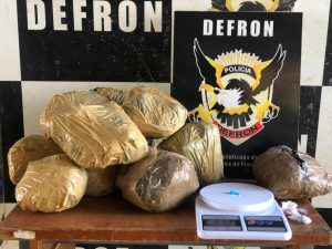 Polícia Civil apreende cocaína avaliada em R$ 400 mil e prende suspeito