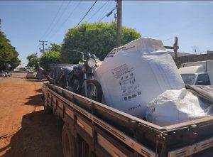 Foto de Polícia Civil recupera camionete, motocicleta, sementes e adubos subtraídos por associação criminosa