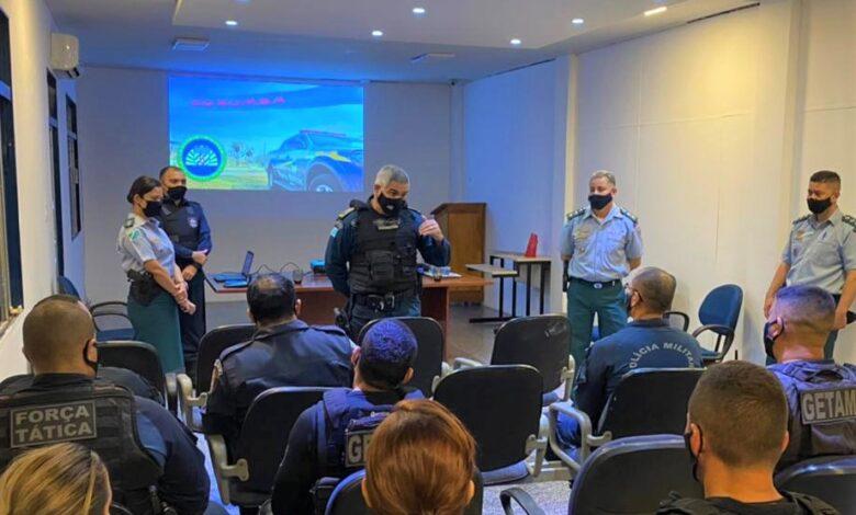 Polícia Militar de Corumbá recebe visita do Comandante-Geral da PMMS |