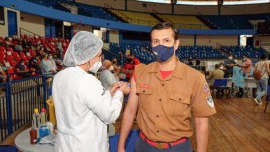 Foto de Prefeitura vacina profissionais das forças de segurança e salvamento e dá continuidade à aplicação da 2ª dose | CGNotícias