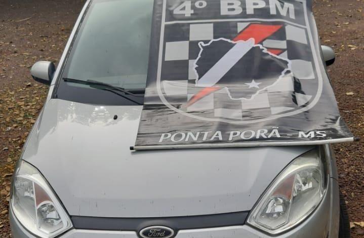 Força Tática recupera veículo roubado em SC |
