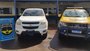 Foto de Operação Hórus/MS: Polícia Militar Rodoviária recupera camionete furtada |