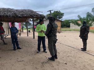 PMA de Campo Grande está com equipe no revezamento que ocorre desde o dia 30 na operação preventiva e informativa na região onde uma onça pintada foi morta a tiros |