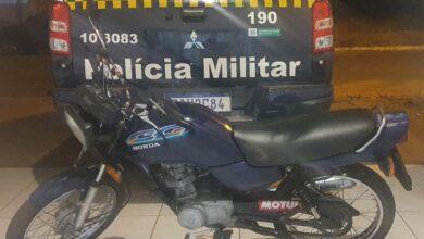 Foto de Polícia Militar apreende veículo com adulteração de sinal identificador em Três Lagoas. |
