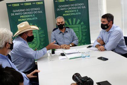 Prefeito de TL solicita em reunião com o governador investimentos no município que totalizam R$ 31 milhões