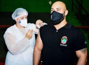 Foto de Servidores da segurança pública não imunizados contra Covid-19 serão vacinados nesta sexta-feira e sábado