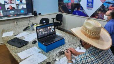 Foto de Angelo Guerreiro comandou videoconferência da AMUSUH com representantes de MT, MS e TO