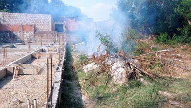 Foto de Polícia Militar Ambiental de Corumbá autua infrator em R$ 5 mil por incêndio em seu terreno urbano depois de denúncia de vizinhos |