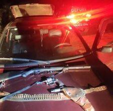 Foto de Policiais civis apreendem armas avaliadas em R$ 12 mil em rodovia