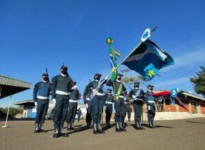 Foto de Formatura na Academia de Polícia Militar marca o encerramento do período de adaptação dos novos Cadetes |