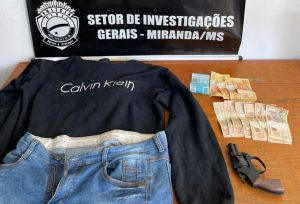 Foto de Polícia Civil prende suspeito de roubo a posto de combustível e recupera valores subtraídos