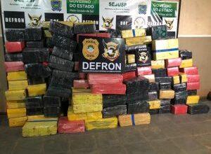 Foto de Policiais civis apreendem mais de 3 toneladas de drogas em residência no região central de Dourados