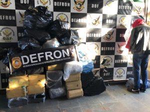 Policiais civis apreendem mais de meia tonelada de drogas em residência em Dourados