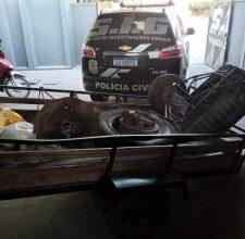 Foto de Dono de depósito de reciclagem é preso pela Polícia Civil, por receptação qualificada em Três Lagoas