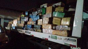 Foto de Operação Hórus: Tático Ostensivo Rodoviário apreende mais de 10 toneladas de maconha em carreta |