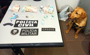 Foto de Operação conjunta das Polícias Civil e Militar prende três por tráfico de drogas em Ribas do Rio Pardo