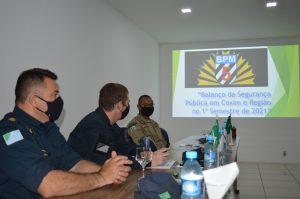 Foto de Polícia Militar de Coxim participa da 2º Reunião com Forças de Segurança no 47º Batalhão de Infantaria |