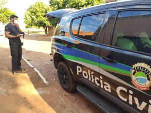 Policiais civis prendem homem por descumprimento de medidas protetivas, em Bataguassu