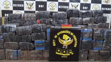 Foto de Camionetes com mais de duas toneladas de maconha foram recuperadas pelo DOF durante a Operação Hórus –