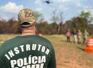 Foto de Profissionais de segurança pública concluem 2º curso de pilotos de drones, oferecido pela Polícia Civil