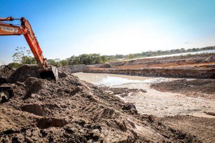 SEINTRA e SEMEA realizam melhorias nas Lagoas do Município