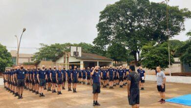 Foto de Com aulas de armamento e defesa pessoal, curso de formação de soldados PM de Dourados finaliza mais uma semana –
