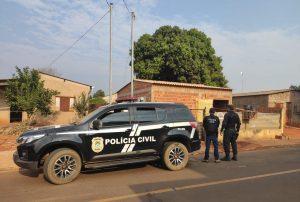 Foto de Suspeitos de roubo em Costa Rica são presos pela Polícia Civil em Goiás